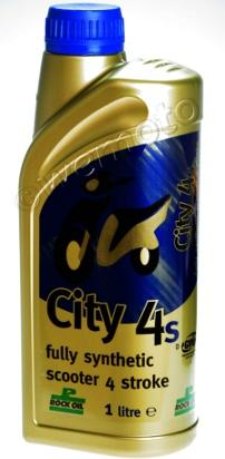 4 Stroke Oil - Rock Oil City 4 For Scooters Fully-Synhetic 5W40