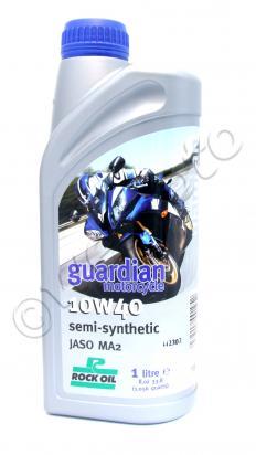 Suzuki GS 425 EN 78-80 Olio Semi Sintetico Guardian Rock Oil 10W/40 - 1 litro