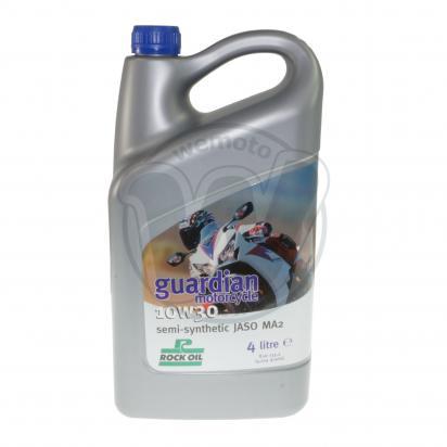 4 Stroke Oil - Rock Oil Guardian 10W30 Semi-Synthetic 4 Litre