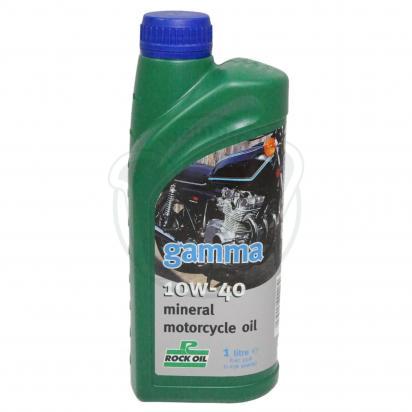 4 Stroke Oil - Rock Oil Gamma Mineral 10W40 1 Litre