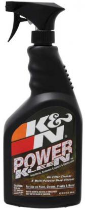 K&N Power Kleen Air Filter Cleaner - 32oz Spray