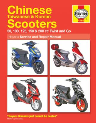 Jincheng JC 50 QT (50cc) 04-09 Manual Haynes