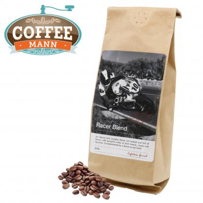 Racer Blend Ground Cafetière Coffee by Conor Cummins 227g