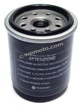 Benelli Adiva 125 (12 inch Front wheel/rear drum model) 00 Filtr oleju - oryginał