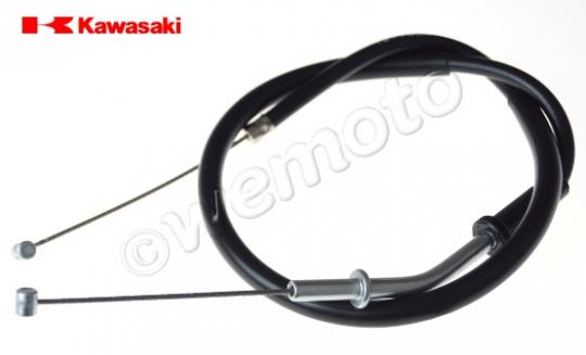 Kawasaki ZXR 400 (ZX 400 L1-L3) 91-93 Throttle Cable B (Push) Genuine Manufacturer Part (OEM)