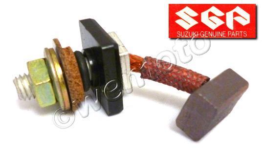 Suzuki GSX 750 ESE 84-85 Set Terminal Escobillas de Carbono Motor de Arranque