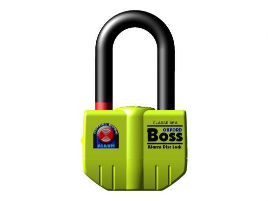 Oxford Lock - Boss Alarmed Super Strong Disc Lock