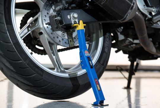 SnapJack Portable Motorcycle Jack - Blue