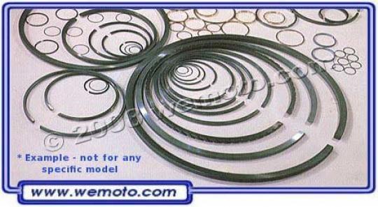 Aprilia Amico 50  93-95 Piston Rings 0.00 (STD) Per Piston