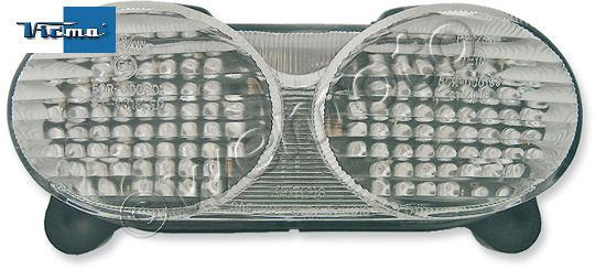 Kawasaki ZX-6R (ZX 636 A1P) 02 Taillight White/Clear Lens LED Unit