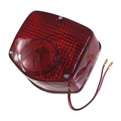 Honda CD 125 T  Benly (6 Volt) 78-79 Taillight - Complete