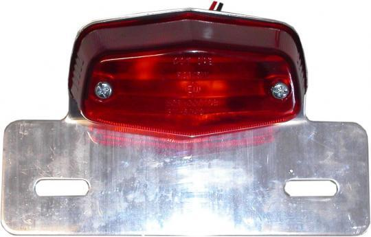 Taillight Complete Mini Lucas & Bracket