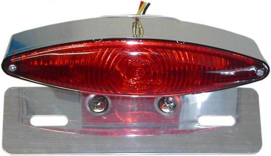 Taillight Complete Tech-Glide & Bracket