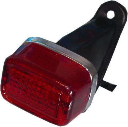 Taillight Complete Trial -  Refector 60mm x 45mm