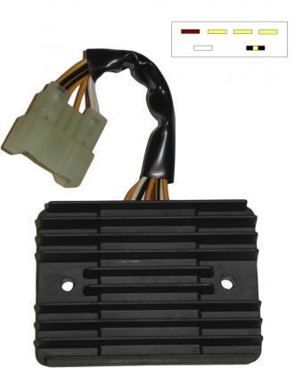 10005720 kawasaki zx9r (zx 900 c1) 98 regulator rectifier parts at wemoto kawasaki rectifier wiring at aneh.co