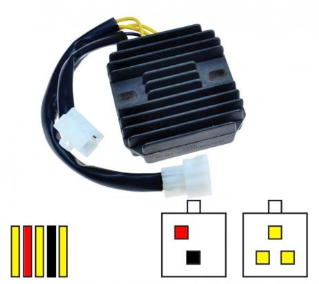 Suzuki SV 650 SK1 01 Regulator Rectifier - by Electrex