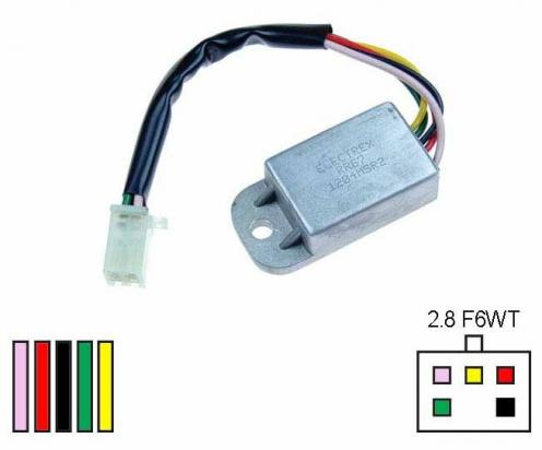Honda XL 125 SZ/SA/SB/SC 79-82 Regulator Rectifier - by Electrex
