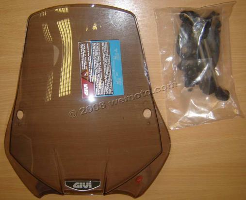Givi A660 AIRSTAR Screen For Maxi-Bike ! - Smoked Colour