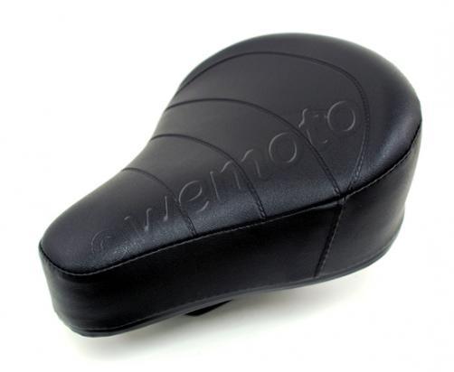 Black Saddle Puch Maxi