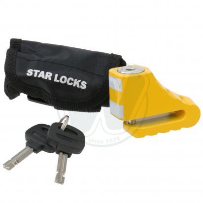 Star-Lock Disc Brake Lock 5mm Pin + Bag