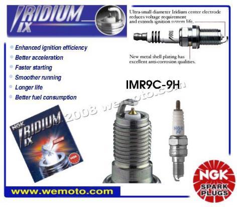 Honda CBR 954 RR Fireblade (US Market) 02-03 Spark Plug ...