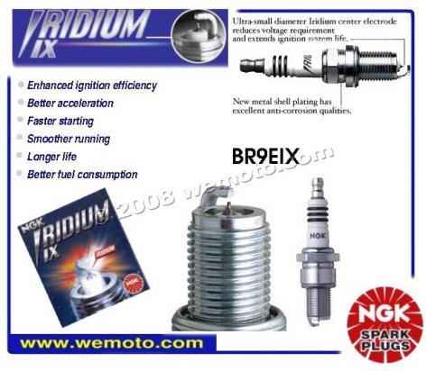 Piaggio Free 50 (Disc model) 95-00 Spark Plug NGK Iridium