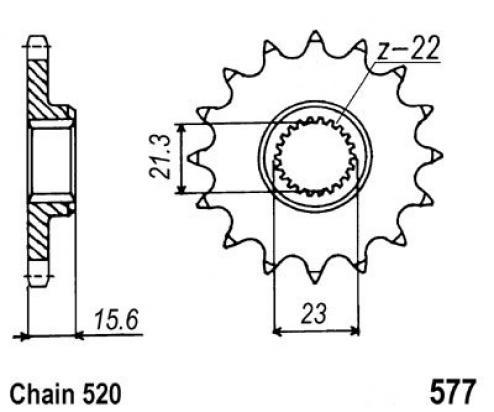 MZ - MuZ Skorpion Replica 660cc 95-01 Pignone - JT