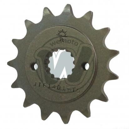 Suzuki LT-R 450 K8/K9 Quadracer 08-09 Sprocket Front Plus 1 Tooth - JT (Check Chain Length)