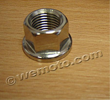 Nut Flanged - Stainless Steel M8 X 1.25mm