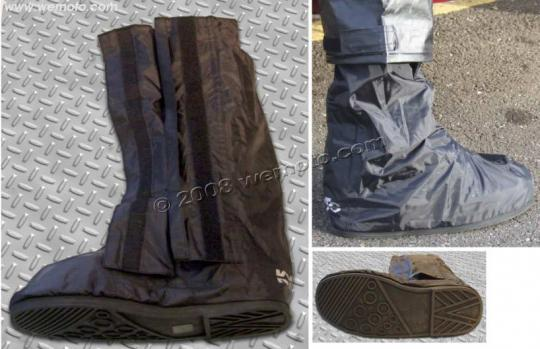 Rain Over Boots Black - Large Up To UK 9