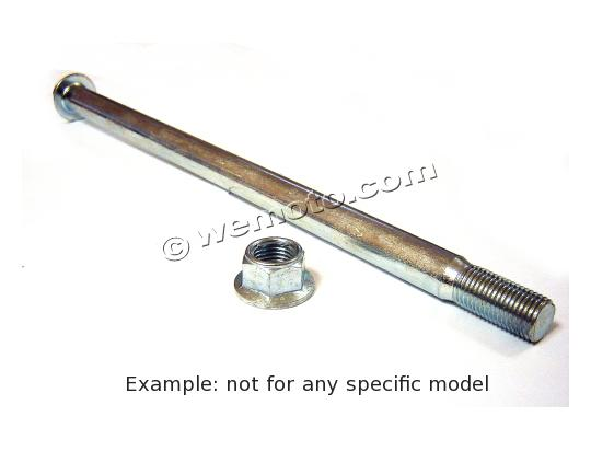 Motorcycle Wheel Spindle Diameter 15mm Length 280mm