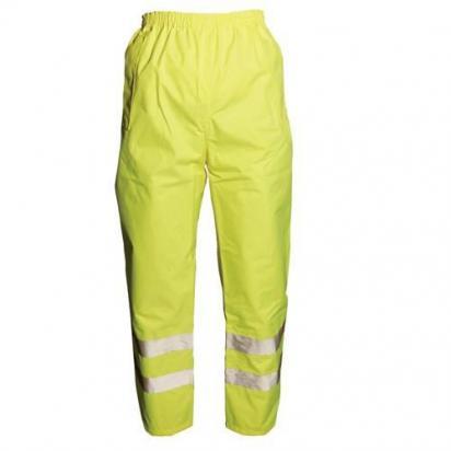 Hi-Vis Trousers Class I Size XL