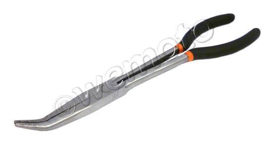 Pliers - Long Reach Electronics Pliers 280mm Bent