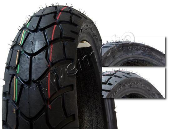 pneu 13 pouces kyoto 130 60 x 13 pneu terrain route scooter f927 53l. Black Bedroom Furniture Sets. Home Design Ideas