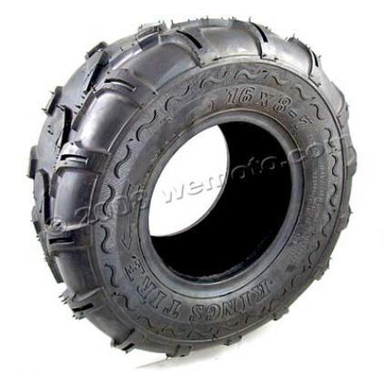 pneu quadricycle tout terrain kings 16 8 7 sans chambre air design rainure de tracteur. Black Bedroom Furniture Sets. Home Design Ideas