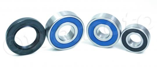 Suzuki TU 250 GY/GBK1 Grass Tracker - Big Boy (NJ47A-117/123) 00-01 Rear Wheel Bearing Kit with Dust Seals