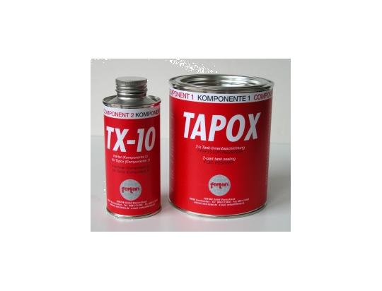 Tapox Tank Sealant - Fuel Tank Seal. Petrol / Ethanol resistant internal coating for rusty or pitted fuel tanks.