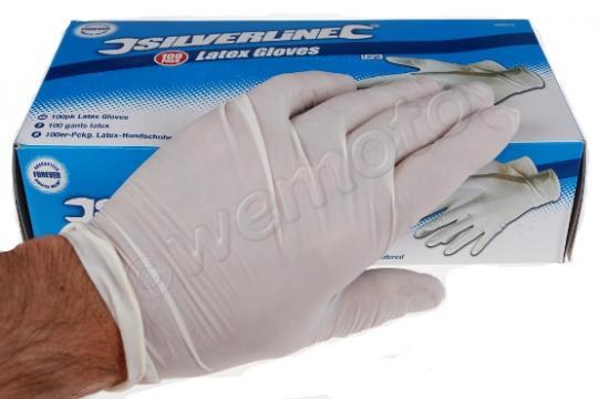 Gloves Latex  Large Box x 100