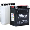 Nitro Maintenance Free Motorcycle Battery with Electrolyte