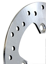 example of a solid motorcycle brake disc