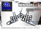 Honda TRX 250 G/H Fourtrax 86-87 Parillas Reposapies (Nerf Bars)