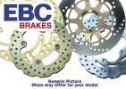 Yamaha YZ 125 W 89 Brake Disc Front EBC - Left Hand