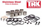 Triumph Speed Triple 900 T301 (Carbs) 94-96 Stainless Steel Full Piston Kit for Two Calipers - Front