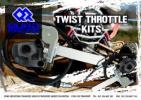 Honda TRX 400 FWS/T/V/W/X/Y Foreman 95-00 Kit conversión de Acelerador (cambio del acelelador con el pulgar)