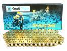Honda CB 250 NA Super Dream 78-79 Chain Swift Heavy Duty SX-Ring Gold