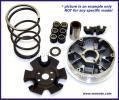 Benelli Adiva 125 (13 inch Front wheel/rear disc model) 01-04 Wariator - kompletny zestaw 50 ccm