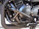Yamaha FZS 600 Fazer/SP 00 Protèges-Moteur - Noir