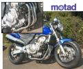 Motad Honda 600 Hornet 98-02 Downpipes and Collector Stainless Steel