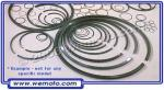 Honda SH 50 E/H/K/M/P/DP City Express/Scoopy 85-95 Piston Rings 1.00 Oversize