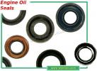 Yamaha XT 225 Serow (Japan) Rear Drum/Electric Start (3RW1-5)(1KH) 89-94 Wheel - Front - Oil Seal - Left